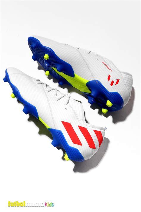 Botas de fútbol para niño adidas Nemeziz Messi 19.1 FG ...