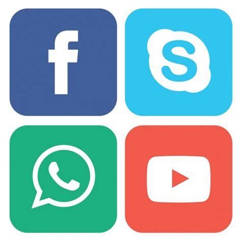 Botones de colores para redes sociales   Descargar ...