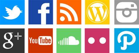 botones en redes sociales