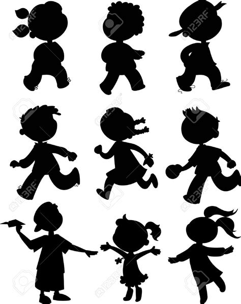 boy girl clipart silhouette 20 free Cliparts | Download ...