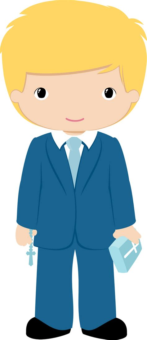 Boys in their First Communion Clip Art. | Oh My First ...