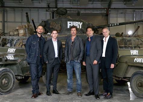 Brad Pitt, a puñetazos con sus compañeros de rodaje en  Fury
