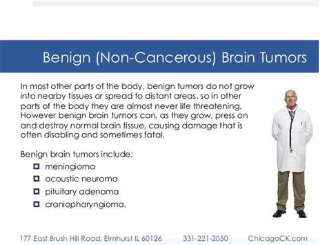 Brain Tumors: Malignant vs. Benign