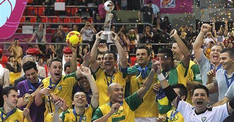 Brasil, campeona mundial de fútbol sala