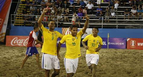 Brasil se coronó campeón de la Copa América de Fútbol ...