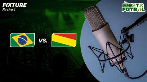Brasil vs. Bolivia ESCUCHAR ONLINE Radio por Internet ...