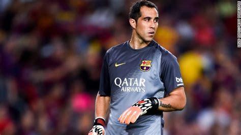 Bravo! Barcelona goalkeeper sets new La Liga record   CNN.com