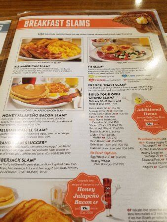 breakfast menu   Picture of Denny s, Kissimmee   TripAdvisor