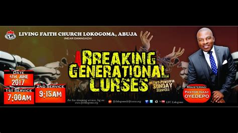 Breaking Generational Curses 2nd Service 060417   YouTube