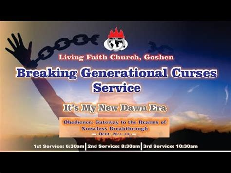 Breaking of Generational Curses   2nd Service     February ...