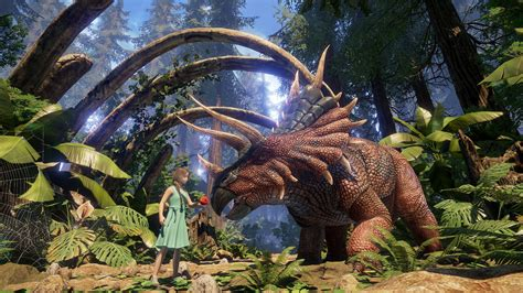 Breed and ride dinos in Ark: Survival Evolved PS VR tie in ...
