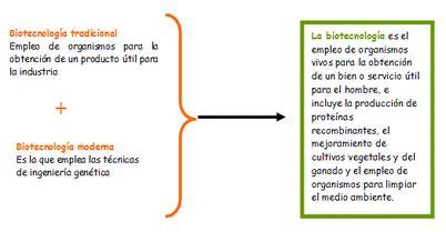 Breve descripción de la biotecnología   Biotecnología ...