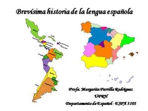 Brevísima Historia de la Lengua Española  authorSTREAM