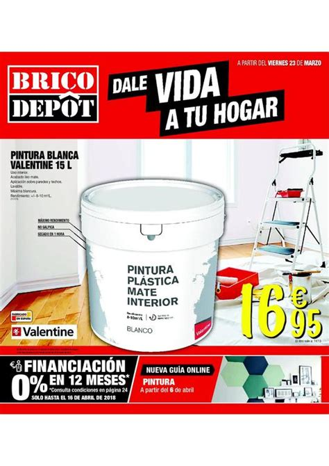Brico Depot catálogo de ofertas abril 2018   EspacioHogar.com