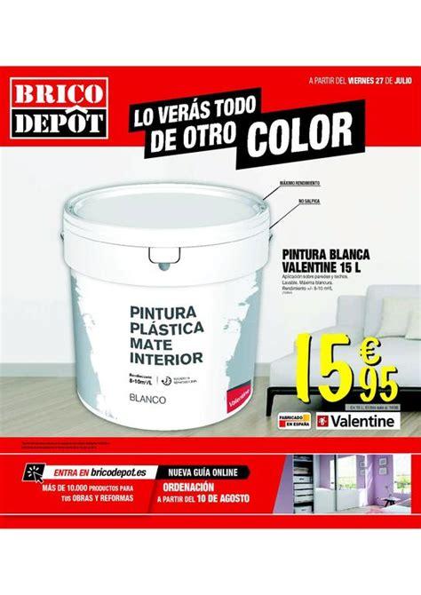 Brico Depot catálogo de ofertas agosto 2018