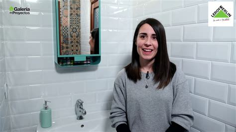 Bricomanía: El nuevo look del baño de Lorena  Leroy Merlin ...