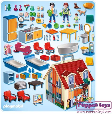 Briefcase Dolls House 5167 PLAYMOBIL   Juguetes Puppen Toys