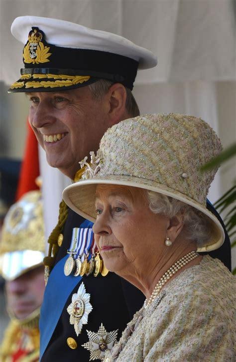 Britain s Queen Elizabeth and her son Prince Andrew   Metro UK