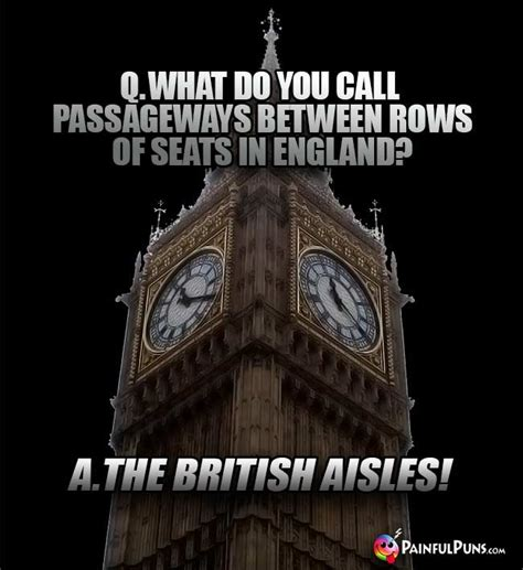 British Jokes, UK Puns, London Humor | PainfulPuns.com