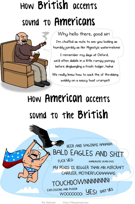 British vs. Americans | Funny Pictures, Quotes, Pics ...