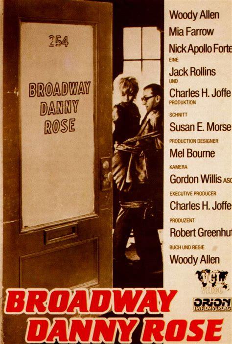 Broadway Danny Rose  1984    Visual Parables