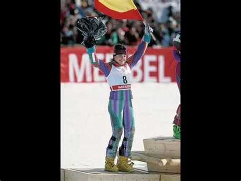 Bronce olímpico de Blanca Fernández Ochoa   YouTube
