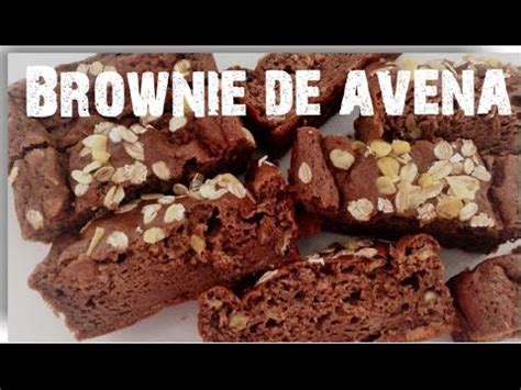 Brownie de avena | Bizcocho Fitness | Fitcocho   YouTube