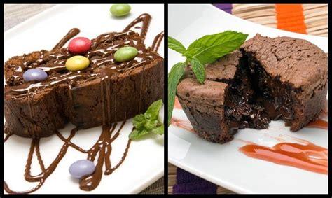 Brownie y Coulant de chocolate   Eva Arguiñano   Postres ...