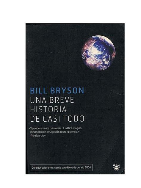 Bryson, Bill   Una breve historia de casi todo [R1] | Big ...