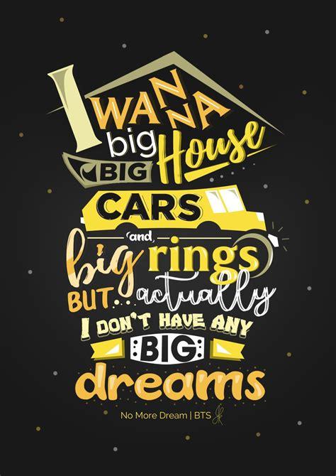 BTS Kpop Lyric Typography Poster/ BTS wallpaper #BTS #방탄 ...