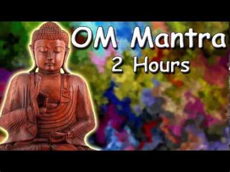 BUDDHIST CHANT   OM Mantra 2 hour meditation with Tibetan ...