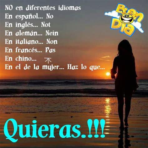 Buen Día: NO en diferentes idiomas | Idiomas, Buenos días ...