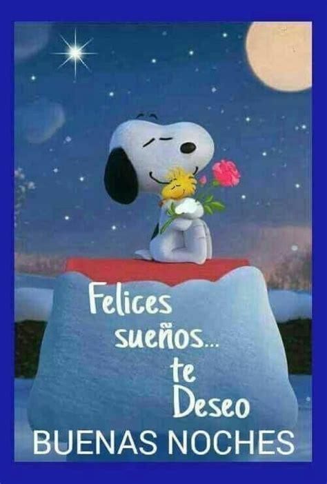 Buenas Noches con Snoopy   BonitasImagenes.net