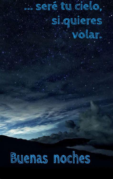 Buenas noches   Estrellas en el cielo, Paisajes cielo ...