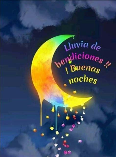 Buenas Noches lluvia de bendiciones 442   BonitasImagenes.net