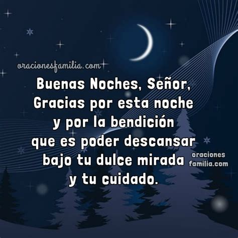 Buenas Noches, Señor. Oración Cristiana de la Noche ...