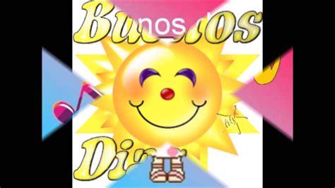 Buenos Dias Canto Yo   YouTube