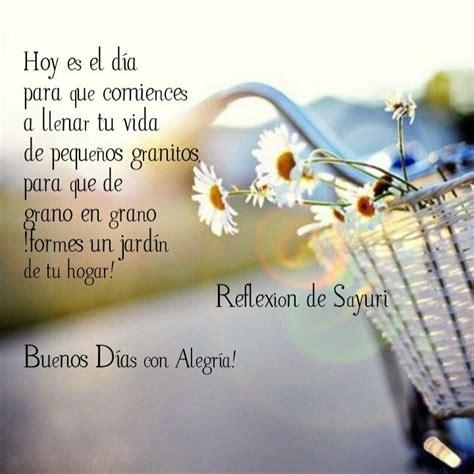 Buenos días con alegría ;     Frases de buenos días ...