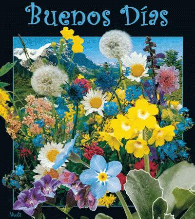 Buenos Dias Flores GIF   BuenosDias Flores Flowers ...