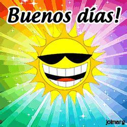Buenos dias gif animado 7 » GIF Images Download