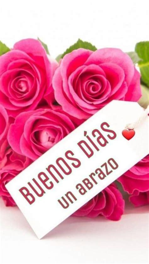 Buenos Días imágenes con flores 265   BonitasImagenes.net