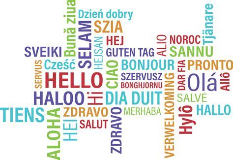 Buenos días y Gracias en diferentes idiomas   Sevillaníssimo