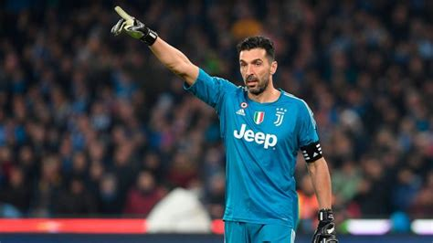 Buffon, la leyenda interminable:  Quiero seguir jugando ...