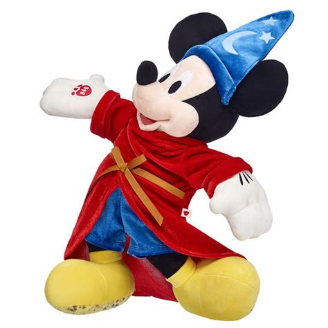 Build A Bear Introduces Limited Edition Mickey Mouse Plushes