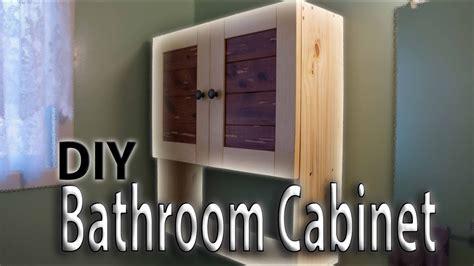Building a Bathroom Wall Cabinet   YouTube