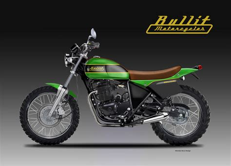 BULLIT MOTORCYCLES 400 SCRAMBLER CLASSIC & SPORT on Behance