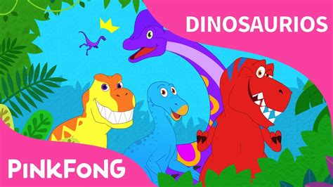 ¡Bum, Bum! Mundo Dino | Dinosaurios | PINKFONG Canciones ...