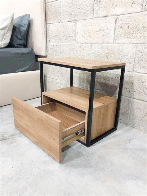 buro metal madera recamaras modernas muebles cajonera ...