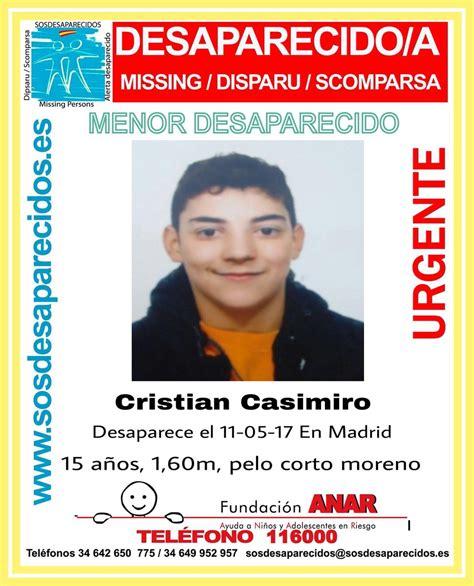 Buscan a un menor de 15 años desaparecido hace cinco días ...