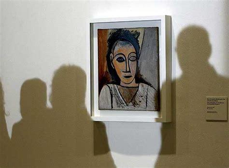 Busto de hombre  estudio para Las señoritas de Avignon ...